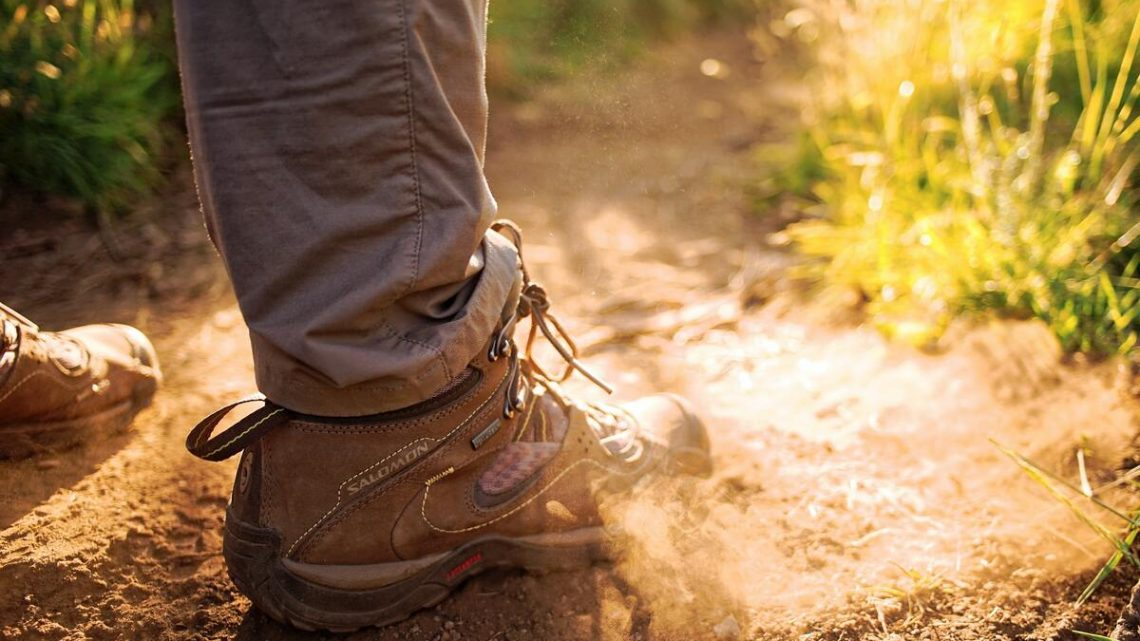 Chaussure de randonnée montante mi-haute Salomon