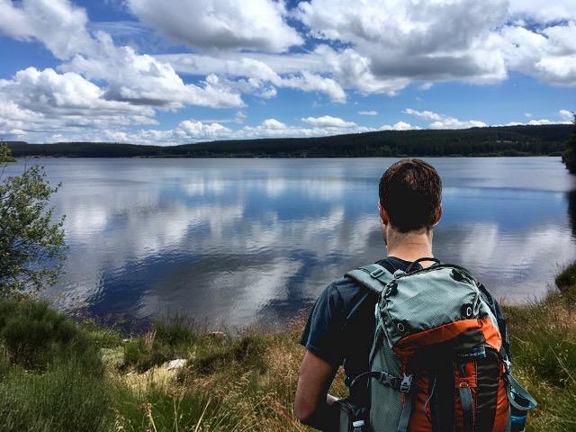 Randonnée autour du lac de Charpal en Lozère