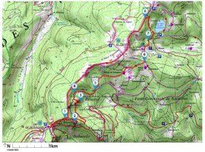 Randonnée dans les Vosges : Les rochers des Hirschsteine