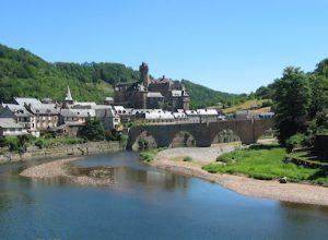 GR65 Sur le chemin de Saint Jacques de Compostelle entre Le Puy En Velay et Conques