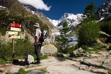 Randonnée Mer de Glace à Chamonix par la forêt de Montenvers chamonix