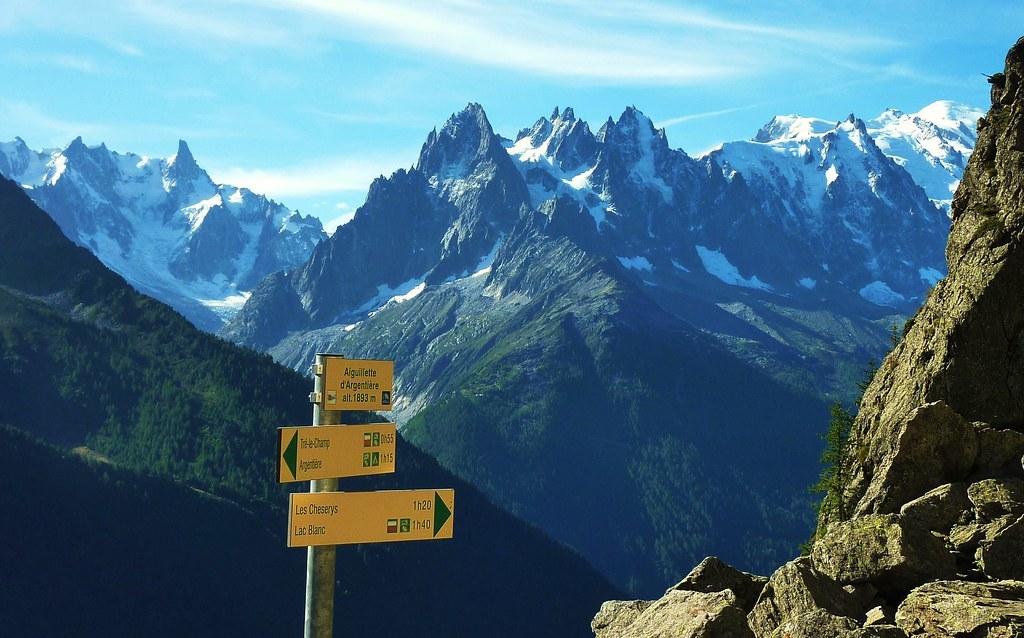 Top 5 des randonnées depuis la vallée de Chamonix