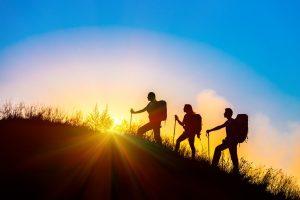 Quel cadeau peut-on offrir lorsqu'on organise une randonnée ?